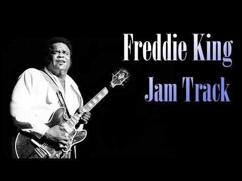 Freddy King - Hideaway (Guitar Backing Track)