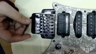 How to restring a (Lo Pro style) Floyd Rose Guitar
