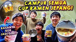 Download lagu EKSPERIMEN CAMPURIN CUP RAMEN JEPANG! RASANYA JADI GIMANA YA?!