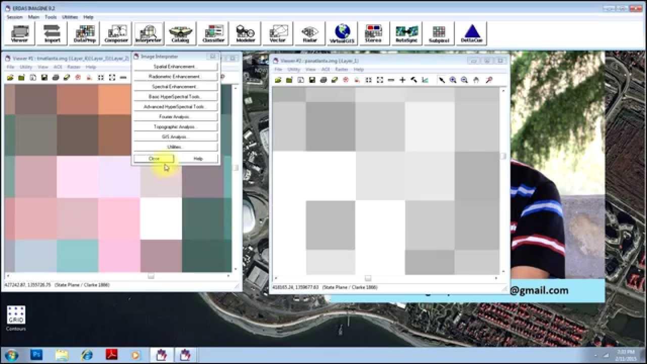 PAN Sharpen (Resolution Merge) - Enhance Spatial Resolution of Image in  ERDAS Imagine