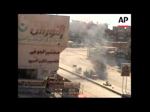 WRAP Firing, armed militants plus Sheikh on chopper