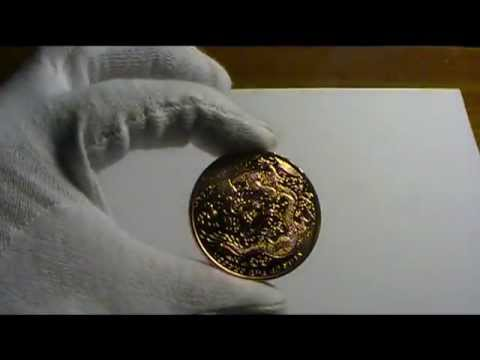 Copper Bullion - 2012 Year of the Dragon Coin