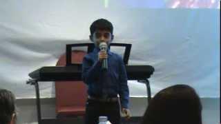 Varun Singing