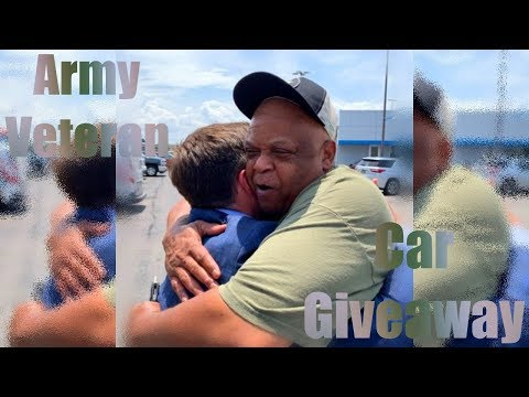 Maverick - Homeless Army Veteran gets New Car from Businessman