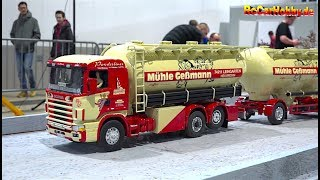 AMAZING RC CONSTRUCTION SITE, TRUCK MODELS AT FAIR FREIBURG p1