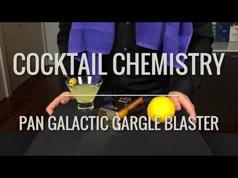 """Recreated - """"Pan Galactic Gargle Blaster"""" from Hitchhiker's Guide To The Galaxy"""