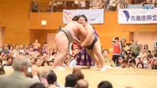 被災地に元気を―大相撲総社場所(2018/10/20) thumbnail