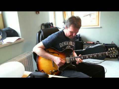 Amazing Blues guitar solo, from BB King to Scott Henderson style