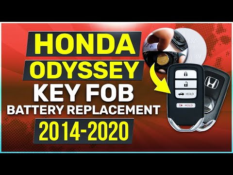 Honda Odyssey Key Battery Replacement Guide 2014 - 2020