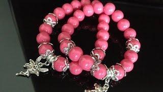 БРАСЛЕТ ИЗ БУСИН. МК Очень легко! Tutorial: Jewelry out of beads.