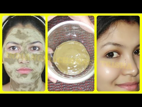 Thumbnail: Face mask for crystal clear glowing skin/oily skin face mask//INDIANGIRLCHANNEL TRISHA
