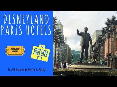 DISNEYLAND PARIS HOTELS | Disney Vlog | It All Started With A Blog