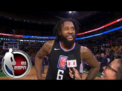 DeAndre Jordan on career-high 30 vs. Celtics: 'They just were finding the hot hand tonight' | ESPN