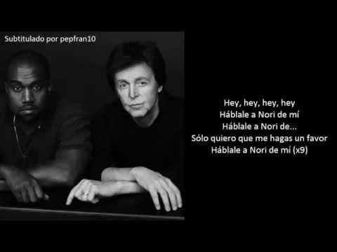 Kanye West Feat. Paul McCartney - Only One (Subtit