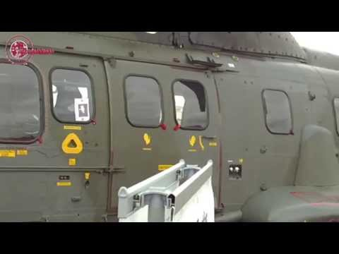 Farnborough Airshow 2014 - Eurocopter AS332 (now Airbus Helicopters)