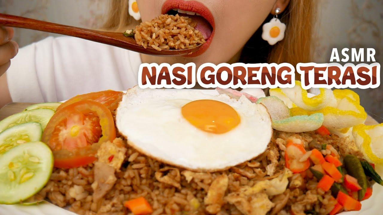 ASMR NASI GORENG TERASI | ASMR Indonesia