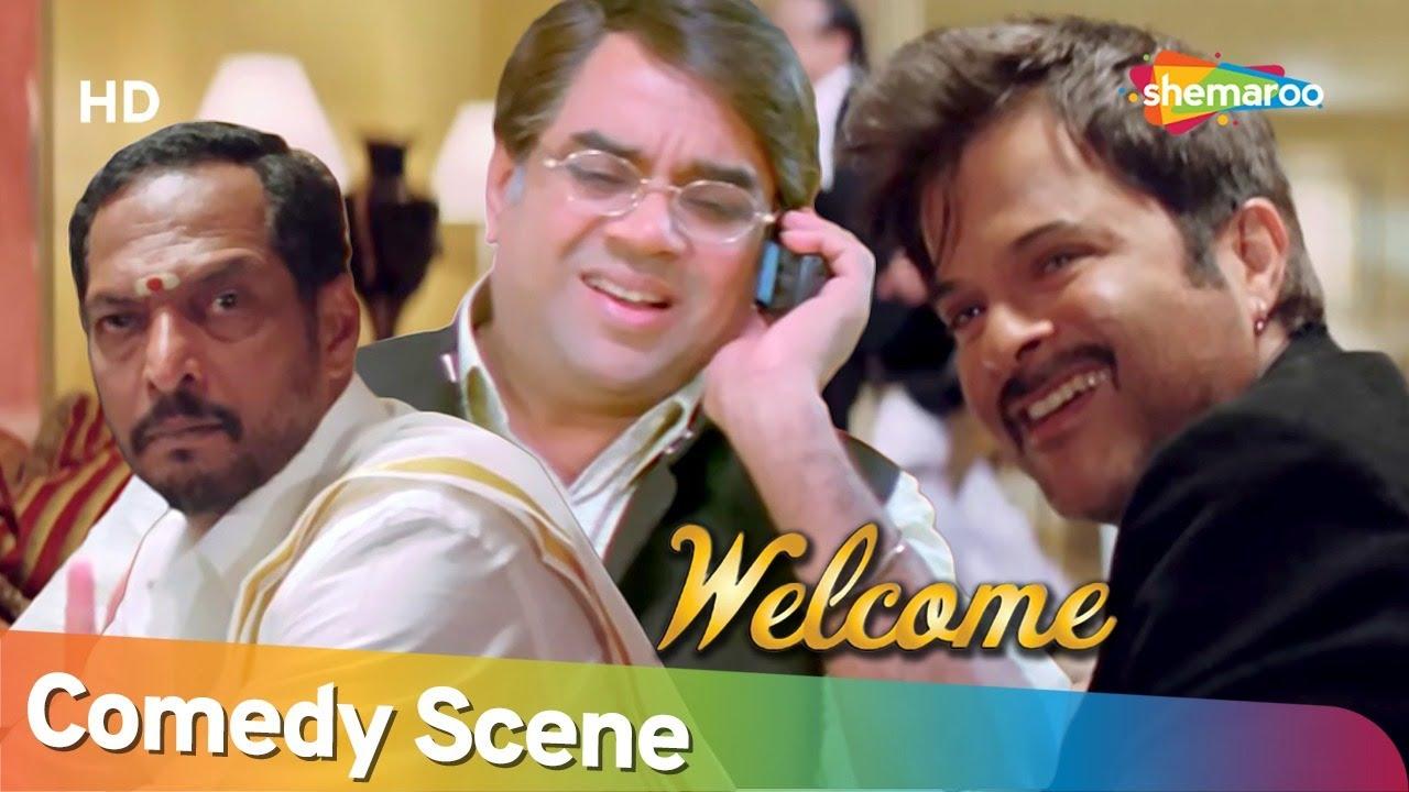 Welcome | Best Comedy Scene | Akshay Kumar - Paresh Rawal - Sanjay Mishra - Nana Patekar