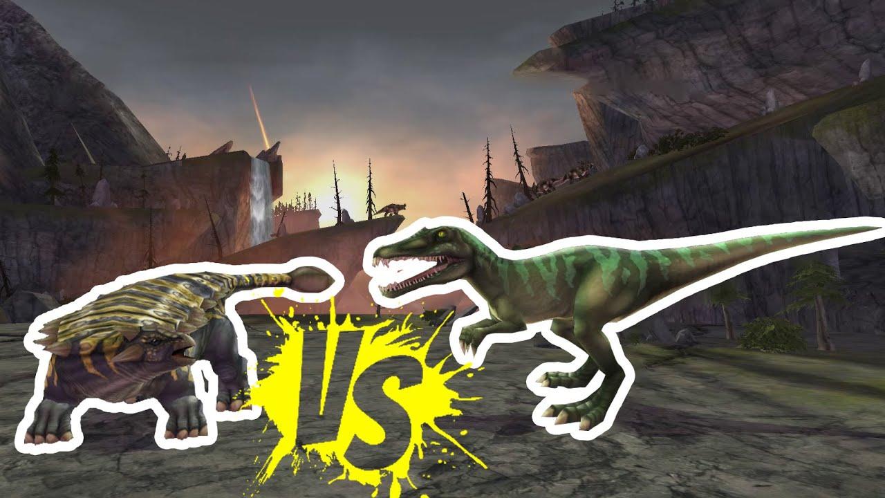 Scolosaurus vs. Baryonyx - Epic Dino Battles - YouTube