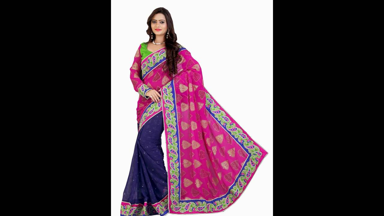 Buy Party Wear Sarees –Latest Indian Party Wear Sarees online shopping with  low price - YouTube 3f85e2e6e