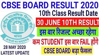 Cbse baord 10th Result 2020   Cbse 10th Result Date   Cbse Board 10th class Latest news