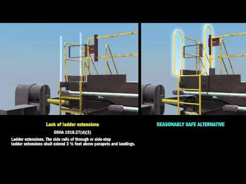 OSHA Ladder Violation