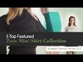 5 Top Featured Teen Mini Skirt Collection Amazon Fashion, Winter 2017