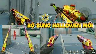 CF Mobile | Bộ Súng Hallowen Spooky Mới : 3Z Hallowen, 9A91, IAS, Dual Colt Hallowen