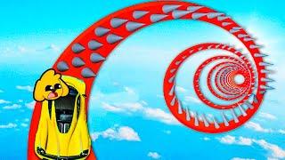 RETO de la ESPIRAL de PINCHOS 100% IMPOSIBLE en GTA 5 ONLINE #14 (MIKECRACK)