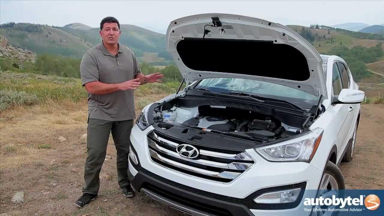 2013 Hyundai Santa Fe Sport Test Drive & Crossover SUV Video Review
