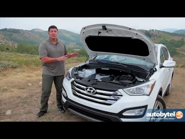 2013 Hyundai Santa Fe Sport Test Drive U0026 Crossover SUV Video Review