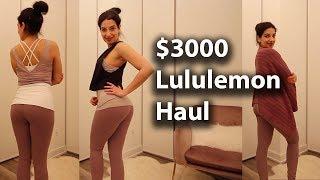 $300 Lululemon Haul - Yoga Wea…