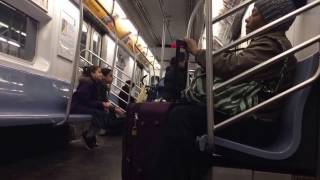 NYC Subway Ride: R142 (5) train from Franklin Ave to Church Ave
