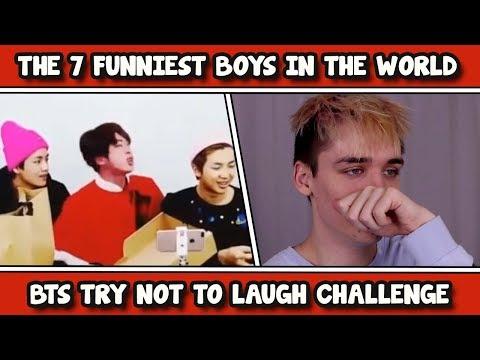 HARDEST BTS TRY NOT TO LAUGH CHALLENGE #5 [BTS CRACK]