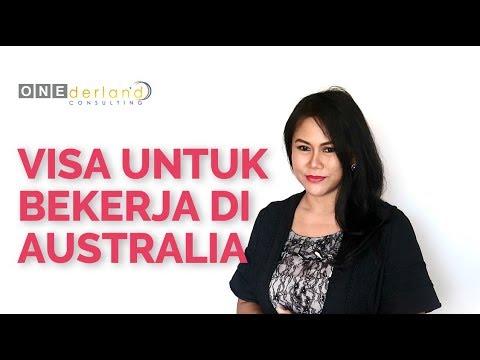 Visa Untuk Bekerja di Australia   Working Visa Australia