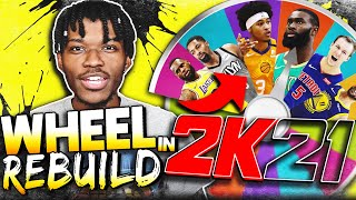 THE OFFICIAL WHEEL REBUILDING CHALLENGE IN NBA 2K21