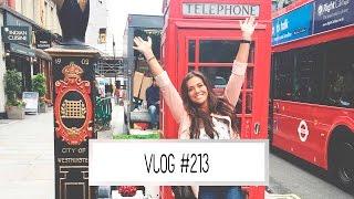 THE BODYSHOP PERS REIS IN LONDON  | Laura Ponticorvo | VLOG #213