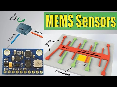 How MEMS Accelerometer Gyroscope Magnetometer Work & Arduino Tutorial