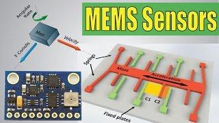 How MEMS Accelerometer Gyroscope Magnetometer Work & Arduino Tutorial