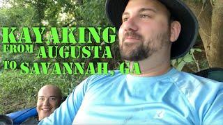 Kayak Camping: Augusta to Savannah, Georgia