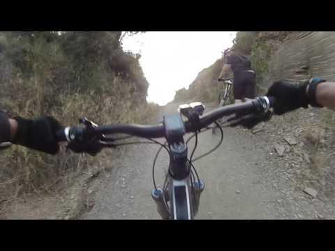 Bajada desde Sant Ramón a Sant Boi por trialera.