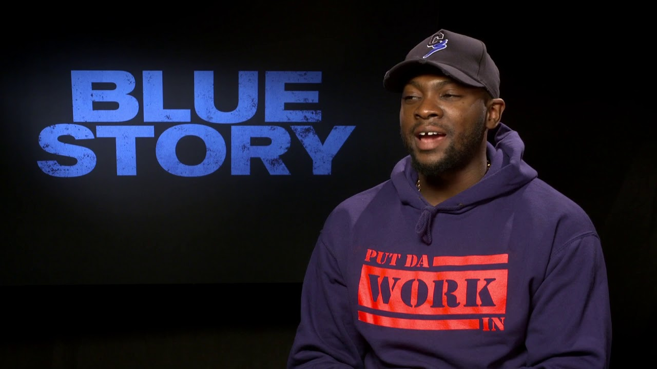 Blue Story | Rapman On 'Blue Story,' 'Shiro's Story', Relationship With Giggs | Interview