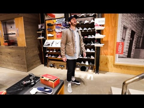 SNEAKER SHOPPING IN MONTREAL!