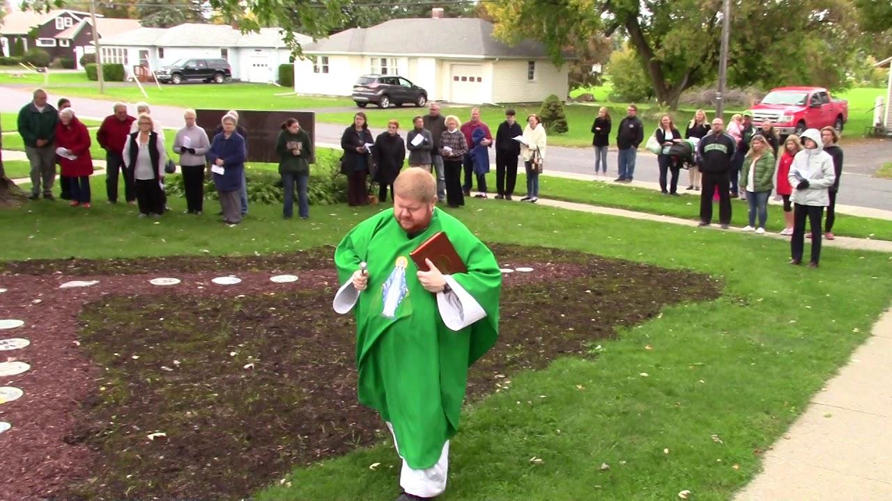 Sacred Heart Rosary Garden  10-6-19