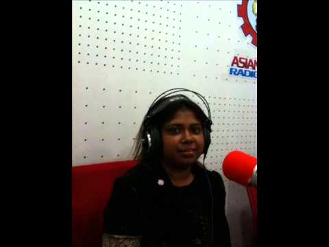 Asian Radio FM 90.8 LIVE program maria.........
