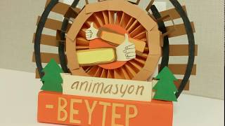 BEYTEPE (papercut stop motion animation)