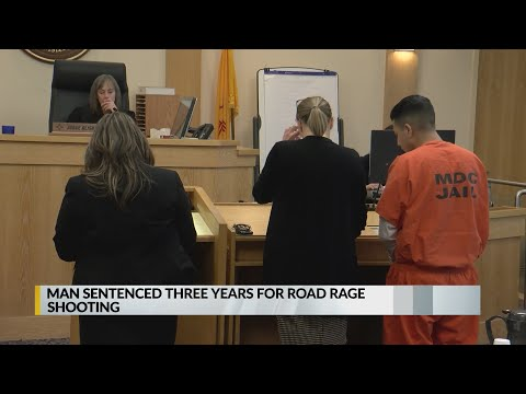 Road Rage Shooter Sentenced To Three Years In Prison