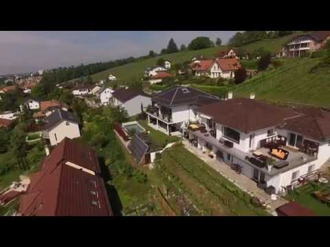Real estate Property Tour in Switzerland (Aerial + Indoor)