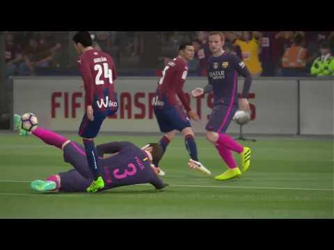 FIFA 17   BARCELONA VS EIBAR FULL GAMEPLAY (PS4/Xbox One)