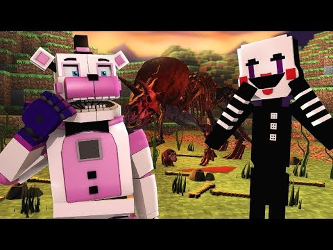 FNAF Journey To The Center Of The Earth- Minecraft FNAF Roleplay
