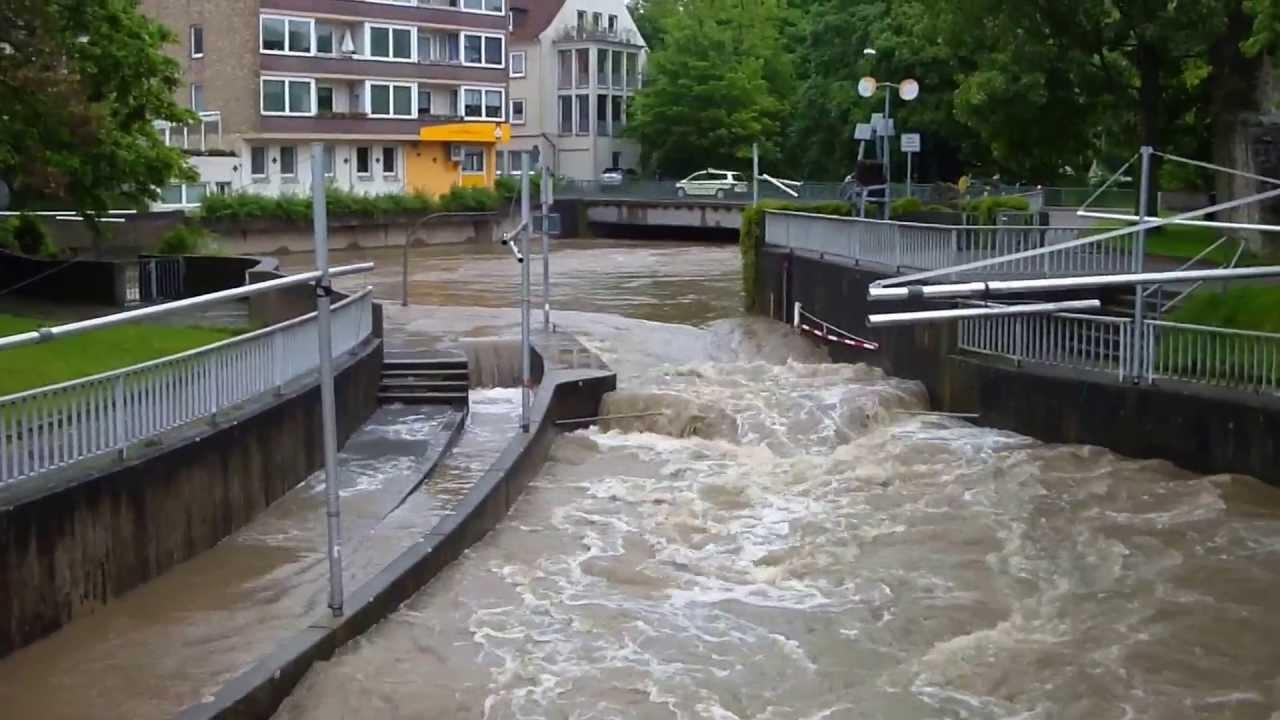 überschwemmungen Hildesheim